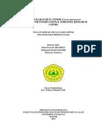 PENANGKARAN RUSA TIMOR (Cervus timorensis) DI CENTER FOR INTERNATIONAL FORESTRY RESEARCH (CIFOR)