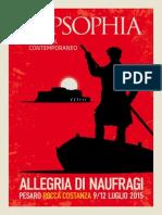 Allegria di Naufragi - Popsophia 2015