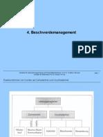4. Beschwerdemanagement