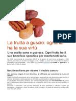 La Frutta a Guscio