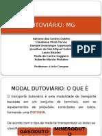 8 Dutoviário- MG Ppt