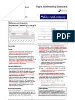 Scorecard - Delicious - McKinsey