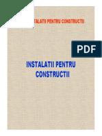 Curs - Instalatiilor Pentru Constructii