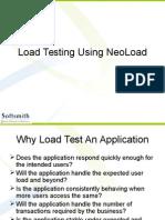 Load Testing Using Neoload
