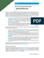 PreSalud Fisiología Guía 04 - Sistema Muscular