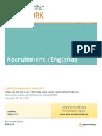 Recruitment Framework