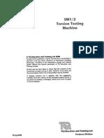 Torsion Testing Machine(a)