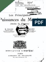 M.fallex - Les Principales Puissances Du Monde