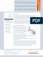 Evaluating Selective Coordination Current Limiting Fuses Circuit Breakers Tech Topic