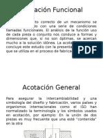 Acotación-Funcional