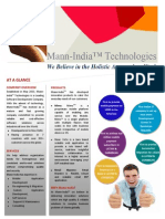 Mann-India Corporate Brochure