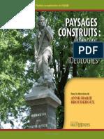 Paysages Construits Memoire Identite Ideologies