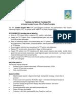 Assistant Program Officer Job