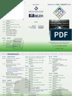 Folder - Semana Do Meio Ambiente Funbosque
