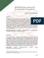 PATENTES FARMACÊUTICAS E ACESSO A MEDICAMENTOS PHARMACEUTICAL PATENTS AND ACCESS TO MEDICINES