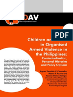 Children Youth Organized Armed Violence Philippines