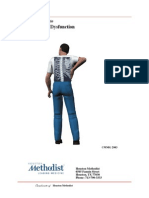L-Spine-spine Lumbar SI Joint Dysfunction