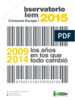 Cetelem Observatorio Consumo Europa 2015. Consumo Razonado