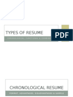 Types of Resume-1