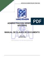 Manual de Claves Pedimento 4.0