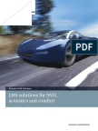 LMS Solutions for NVH Acoustics and Comfort Brochure