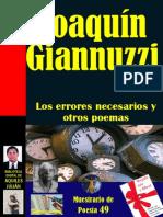 Joaquin Giannuzzi Los Errores Necesarios