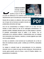 Personaje de La Paz Centro