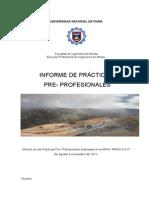 Informe de Prácticas