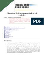 (Alterazioni Della Postura Sagittale in Et_300 Evolutiva)