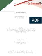 Estudios previos y especificaciones técnicas