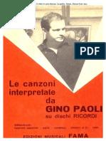 56488061 Le Canzoni Interpretate Da Gino Paoli Copy