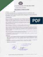 Reglamento General de Investigación 2009