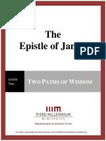 The Epistle of James - Lesson 2 - Transcript
