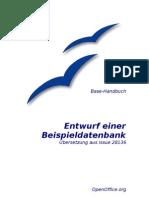 OpenOffice Base - Handbuch