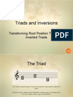 Introduction to Triads and Inversions