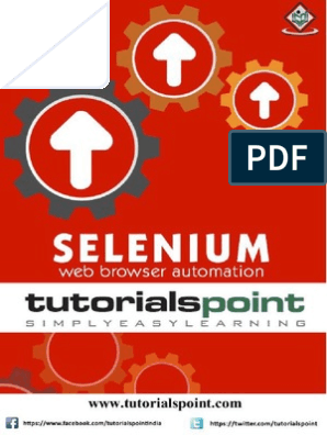 Selenium - Web Browser Automation pdf | Selenium (Software