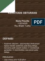 Keratosis-Obturans
