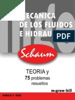 Mecánica De Los Fluidos E Hidráulica - Ranald V. Giles (Schaum).pdf