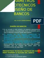 8. Diseño de Bancos