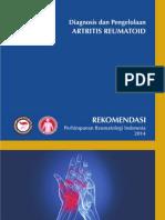 Panduan Diagnosis Dan Penatalaksanaan Reumatoid Artritis