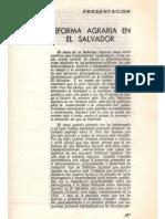 Reforma Agraria en El Salvador