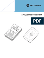 Motorola solution sap 6532 access pointinstallationguidepartno 72e 149368 01rev b 120807141039 Phpapp02