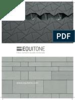 Equitone Brochure Ed.2 Sep 2014