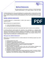 Method Statement Info