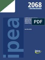 13.05.15-1-Evolucao Da Produtividade No Brasil-pesquisa Ipea-trabalho Em Equipe