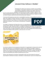 ERP, ¿Vertical, Horizontal O bien Software A Medida? Mundo.erp