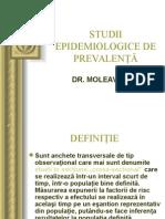 Studii Epidemiologice de Prevalenta