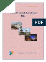 Statistik Daerah Kota Bekasi 2014