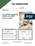 CONSIGNA DE MATEMATICAS BLOQUE 5 DE SECUNDARIA TERCER GRADO