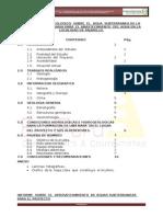 Informe Hidrogeologico Agua Pajarillo